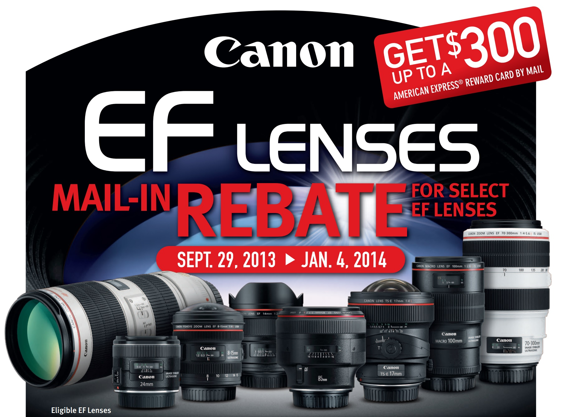 6 Tips & Tricks for Canon Mail-in Rebates | Canon Camera and Lens ...